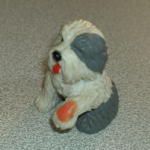 #120 Mary old English Sheepdog Vintage Puppy in my pocket dogs 1995 (1)
